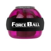 ジャイロスコープ LED 腕時計パワー力ボール グリップ ボール腕筋肉運動強化速度メーター紫