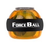 Gyroscope LED Wrist Power Force Ball Grip Ball Arm Muscle Exercise Strengthener Speed Meter Yellow
