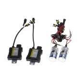 H8 55W 6000K 9-16V Xenon HID Conversion Kit Set Replacement Single Beam Slim Ballast Headlamps Foglight Bulbs Lights