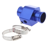 Water Temp Temperature Joint Pipe Sensor Gauge Radiator Hose Adapter 28mm Blue