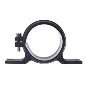 58-60mm ID Fuel Pump Mounting Bracket Single Filter Clamp Cradle Black