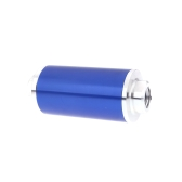 Universal Fuel Filter with 2pcs AN6/AN8/AN10 Adaptor Fittings Total 6pcs Black Fittings  Blue