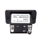 48 Volt Golf Cart Digital LED Battery Status Charge Indicator Monitor Meter Gauge