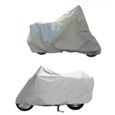 Motorcycle Bike Moped Scooter Cover Sunscreen Heat Protection Dustproof Anti-UV  Scratch-Resistant Prevention Covering