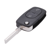 Flip Remote Key Shell for Audi A3 A4 S4 Uncut Fob Case 3 Button Panic Folding