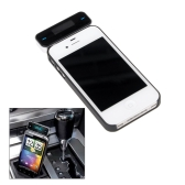 Wireless Car Kit 3.5mm In-Car Handsfree FM Transmitter + USB Car Charger for ipod iphone Smartphone MP3 MP4