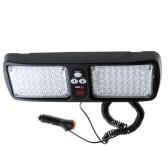 LED Car Truck Visor Strobe Flash Light