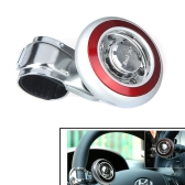 Car Steering Wheel Knob Ball Hand Control Power Handle Grip Spinner Red