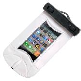 Mp3、Mp4、iPod、iPhone のホワイトの防水真空シール袋 & イヤホン