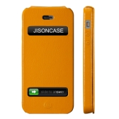 Jisoncase Flip Executive Case Cover for iPhone 5