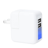 2 Ports USB Power Adapter Wall/Travel Charger 5V 2.1A