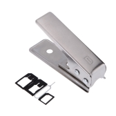 JAKEMY JM-CT0 Universal Nano Sim Card Cutter Set for iPhone 6 5S 5 Smartphone