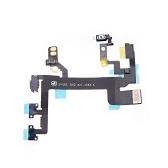 Power Button Switch Sleep Wake Vibration Volume Control Flex Cable Metal Bracket Assembly for iPhone 5S
