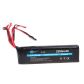 BQY Transmitter LiPo Battery 11.1V 2200mAh 3 connector for JR Futaba Walkera WFLY FS Transmitter Battery