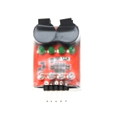Dual Speaker Low Voltage Buzzer BB annunciator w/LED 2S-4S for RC Model Lipo battery