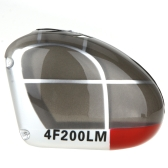 Original Walkera 4F200LM Helicopter Part Canopy HM-4F200LM-Z-09 Silver