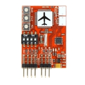 JCX-M6 M6 High Precision Flight Controller Digital gyro for RC Fixed-wing Airplane V-tail Model Plane FPV