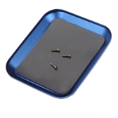 New Aluminium Screw the Tray w/Magnetic for RC Model Phone Repair