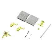 Metal Upgrade Part Set KV977-007 Swashplate/Blade Clip/Main Shaft/Rotor Head for WLtoys V966 V977 Helicopter