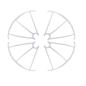 Origianl Syma Parts X5C-03 Propellers Protector Prop Protective Guard for SYMA X5C X5C-1 RC Quadcopter