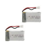 2Pcs Upgrade High Power 3.7V 600mAh Lipo Battery for SYMA X5C X5C-1 X5 JJRC H5C RC Quadcopter