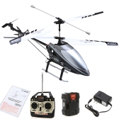 """28"""" Double Horse 9101 RC Helicopter 3.5 CH 2 Motor Gyro US Plug Grey"""