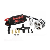 EMAX XA2212 980KV Brushless Motor w/Simonk 20A ESC and Prop Adapter for DJI F450 F550 RC Quadcopter Part(EMAX XA2212 980KV,980KV Brushless Motor,Simonk 20A ESC)