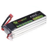 Original Lion Power Lipo Battery 14.8V 4200Mah 30C MAX 45C T Plug for RC Car Airplane Helicopter DJI F550 FPV Multirotor Part (Lion Power Lipo Battery ;14.8V 4200Mah 30C;RC Lipo Battery T Plug )