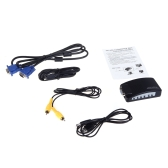 HD VGA to AV Converter RCA S-video Signal Adapter Switch Box PC to TV 2560*1600