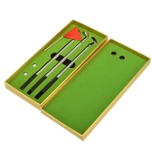 Creative Golfers Replica Aluminum Alloy Ballpoint Pens Golf Club Pen Set