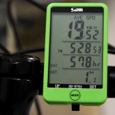 有線自転車自転車サイクリング コンピューター走行距離計速度計タッチ ボタン液晶バックライト用バックライト付き防水多機能