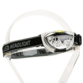 6 LED Lights 1200 Lumens 3 Modes Outdoor Water Resistant Headlight Headlamp for Camping Hiking Cycling