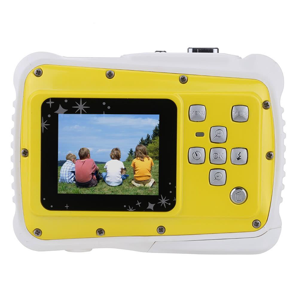 "Portable Handy 720P 30fps HD 5MP CMOS-Sensor Waterproof 3M 1.8"" LCD Screen Digital Camera Camcorder for Children Child Kids Students Boys Girls Teenager"