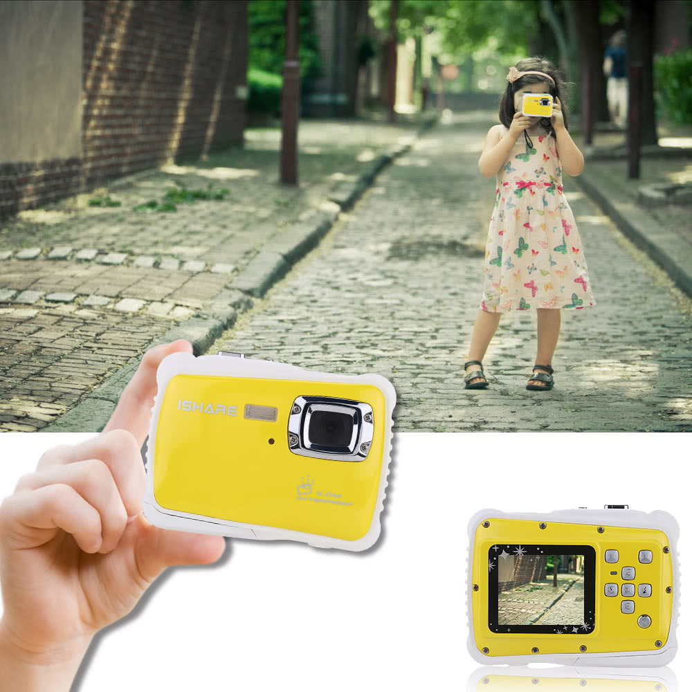 Portable Handy 720P 30fps HD 5MP CMOS-Sensor Waterproof 3M 1.8
