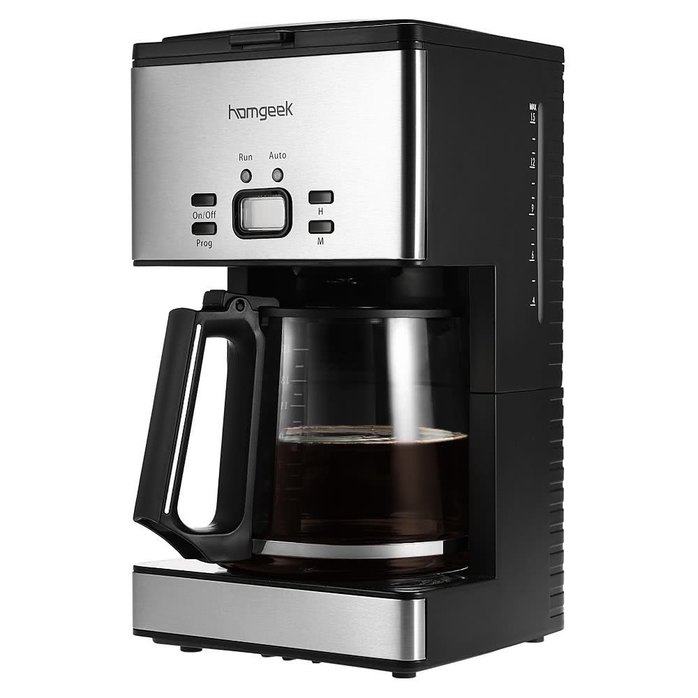 Homgeek High End 1 8l Coffee Maker 15 Cups Programmable