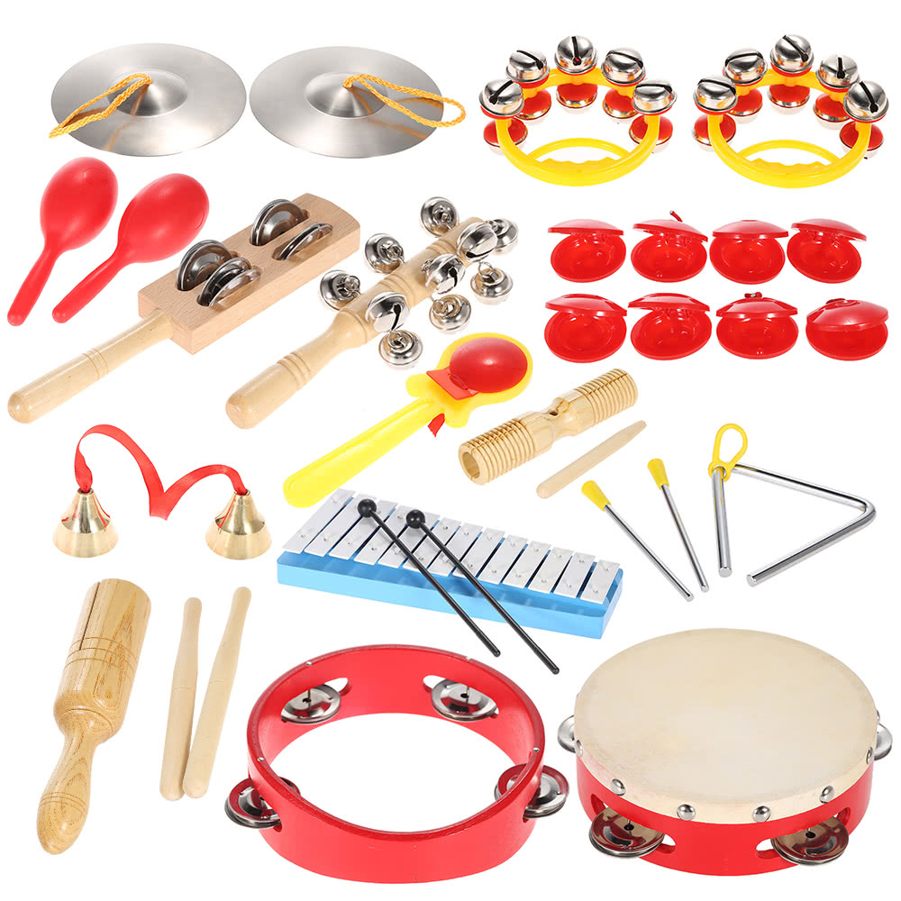 Musical Toys For Toddlers : Percussion set kids children toddlers musical toys