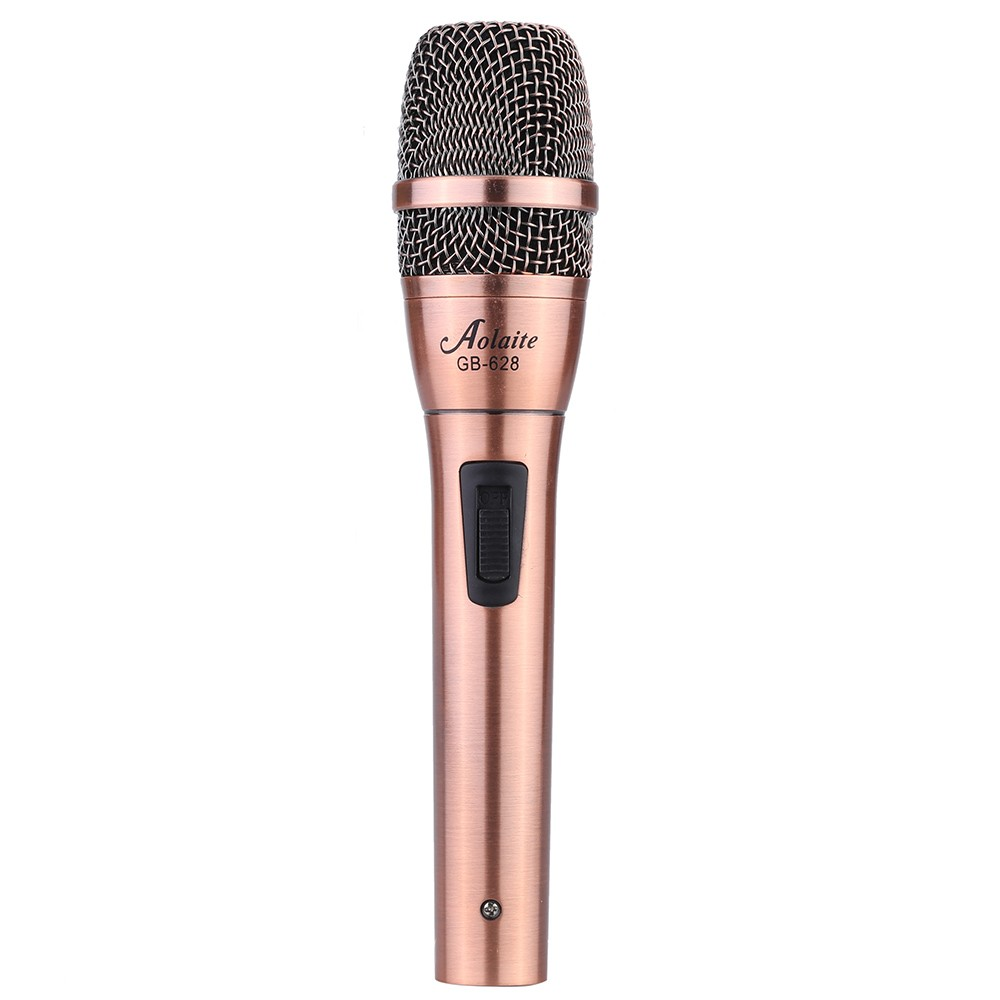 Handheld Wired Dynamic Mic Microphone with Cable for Stage Sing Record
