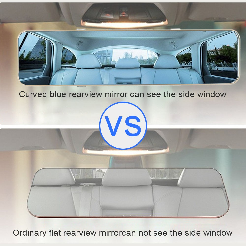 4.3 inch HD Anti-glare Blue Rearview Mirror Car DVR Camera Video Recorder Dash Camcorder G-sensor Motion Detection Loop Recording