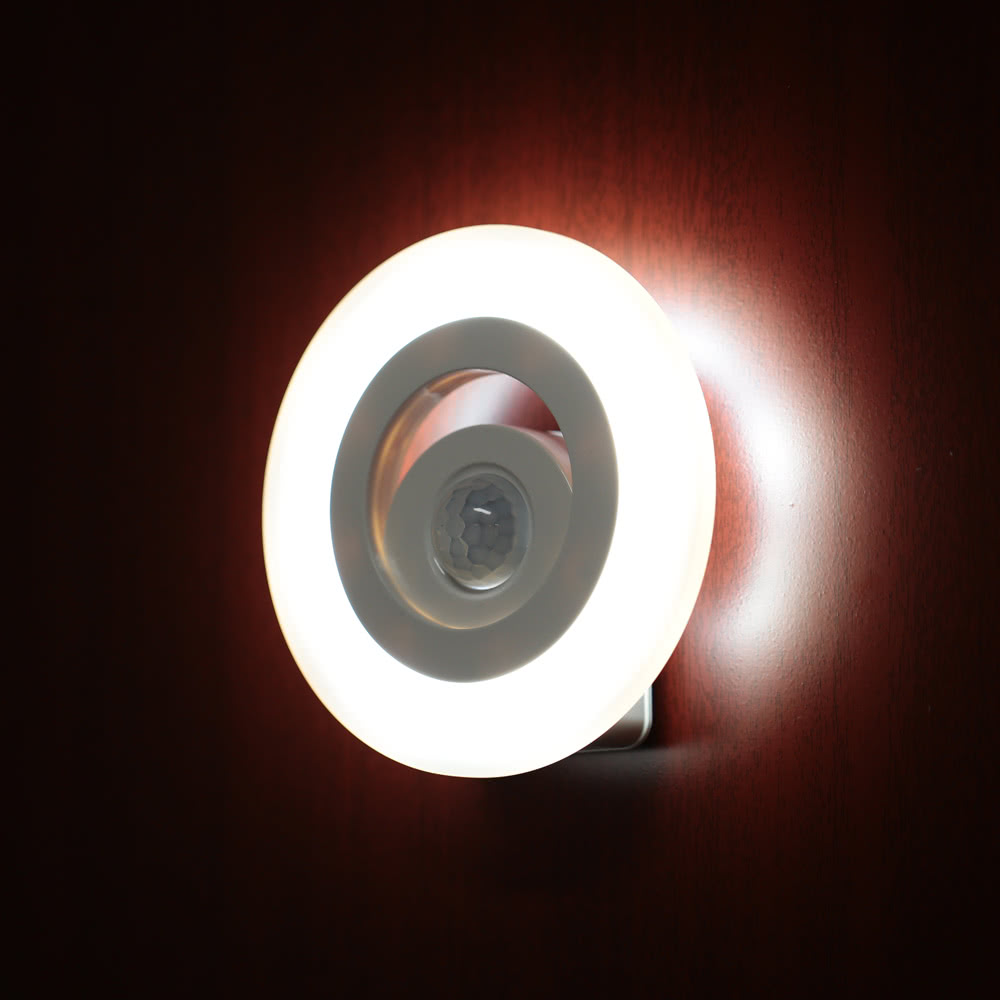 Corner Wall Security Light : Eye Protection LED PIR Motion Activated Sensor Security Wall Lamp Night Light for Corner ...