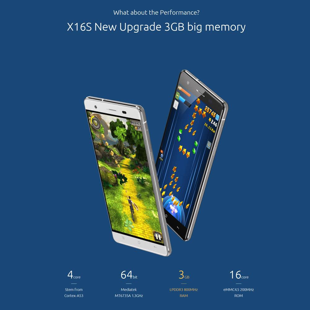 [Deal Alert] Cubot X16 S com 3GB de RAM e Android Marshmallow a um preço interessante 1