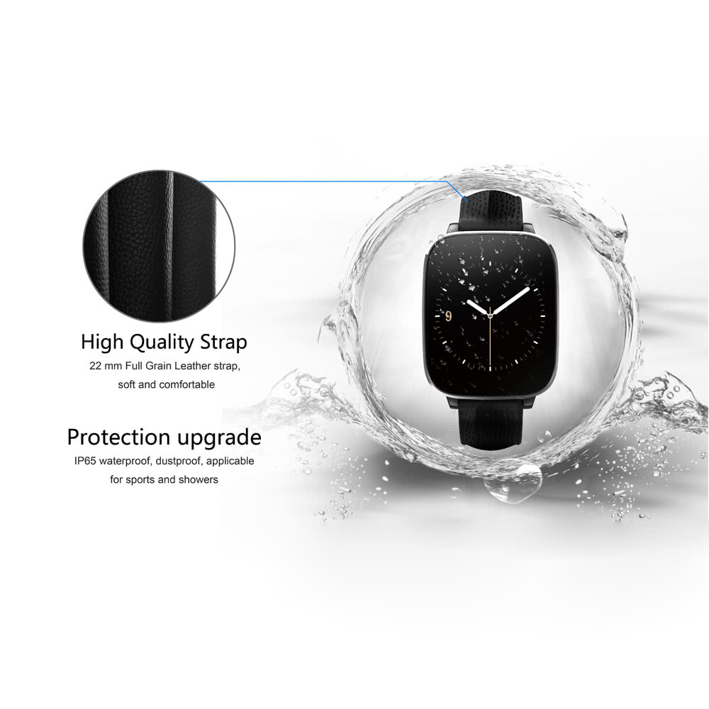 "Zeblaze Crystal Smart Watch Bluetooth 4.0 for iPone 6 6S 6 Plus 6S Plus Samsung S6 S6 edge HTC Andriod Smartphone 1.54"" Capacitive Touch Screen Stainless Steel Stylish Design Pedometer Sedentary Reminder Anti-lost Security Remote Photo Taking Sync Incoming Call Text Check"