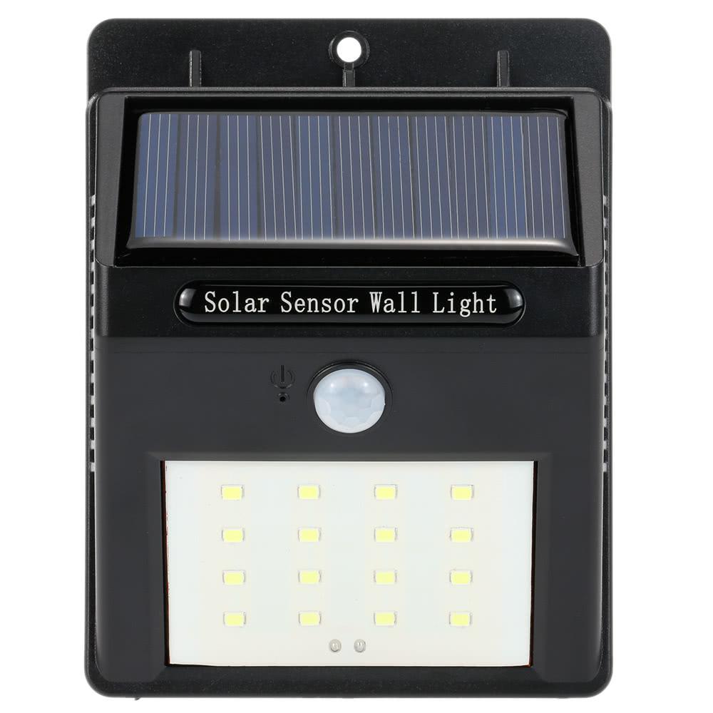 16 Led Solar Wall Light Pir Motion Sensor Outdoor Waterproof Energy Saving Garden Street Lamp 11street Malaysia Lighting Bulb Amp Component