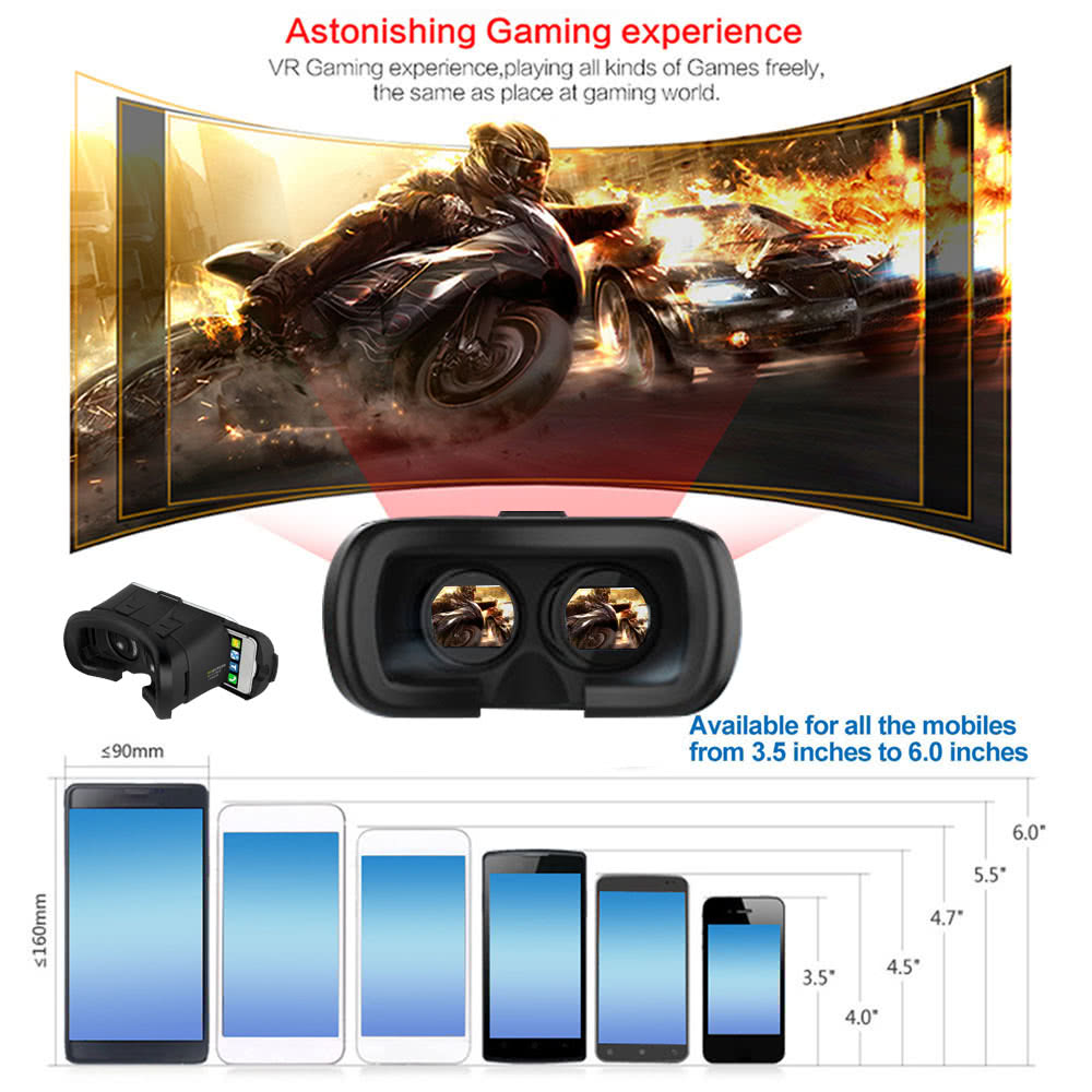 Oferta Gafas Realidad Virtual con mando por 13 euros 1 oferta gafas realidad virtual con mando