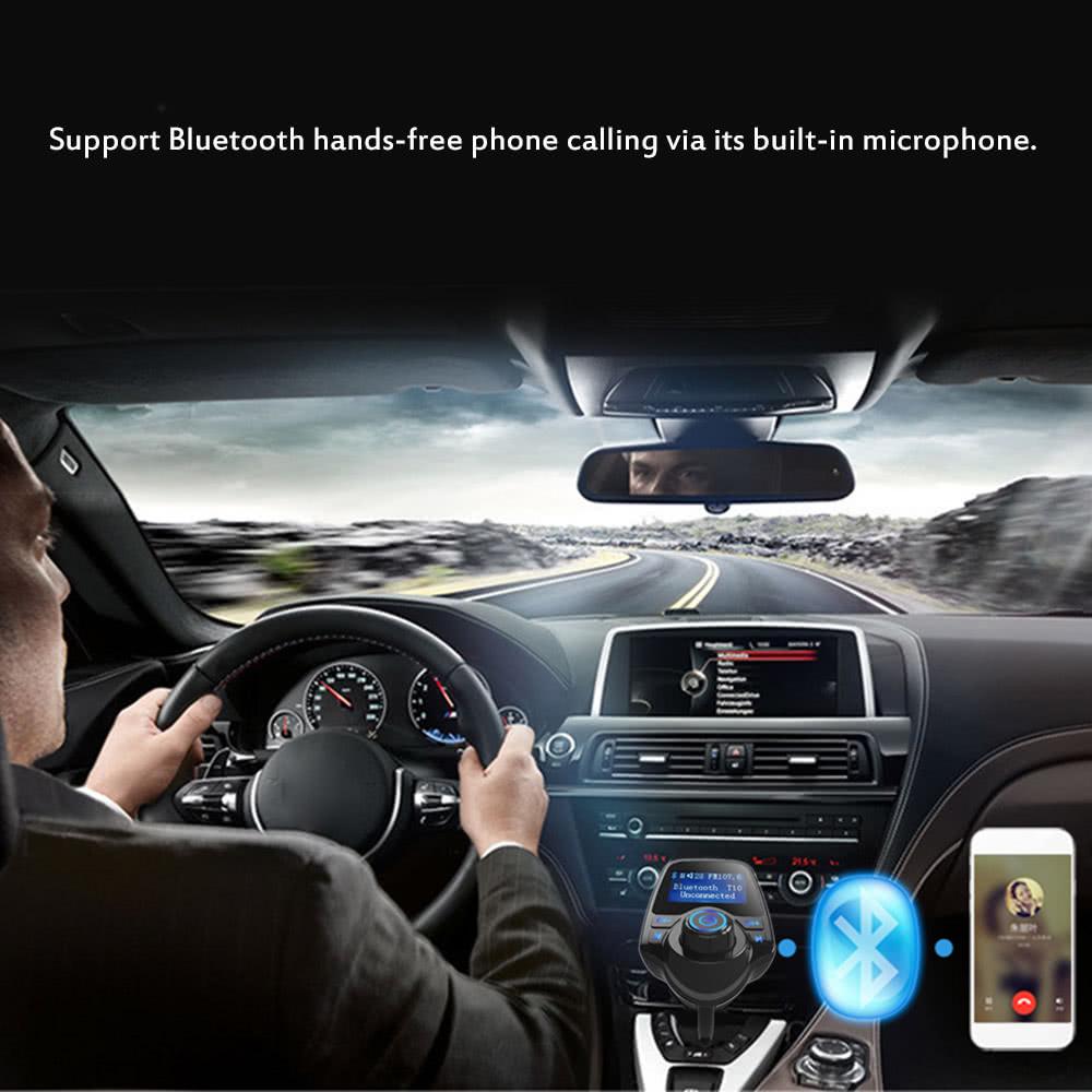 T10 Car Bluetooth Transmitter Manual