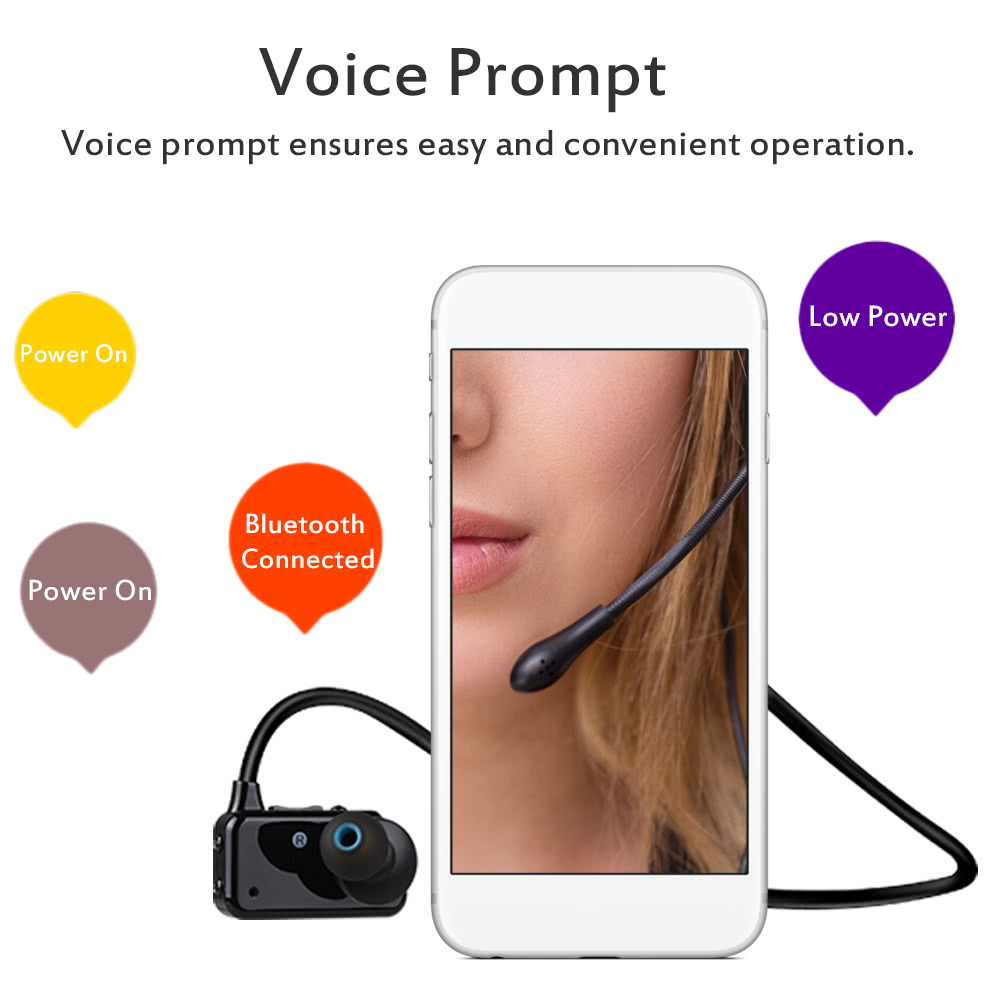 ONN X3 Wireless Bluetooth 4 2 Headphone Outdoor Sports Music Headset