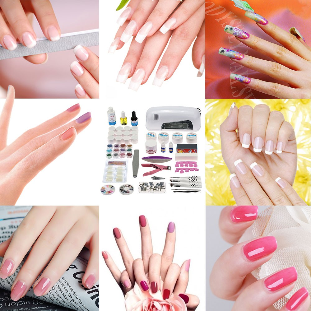 Professional nail art manicure kits end 9 13 2017 11 15 pm for Avon nail decoration tool