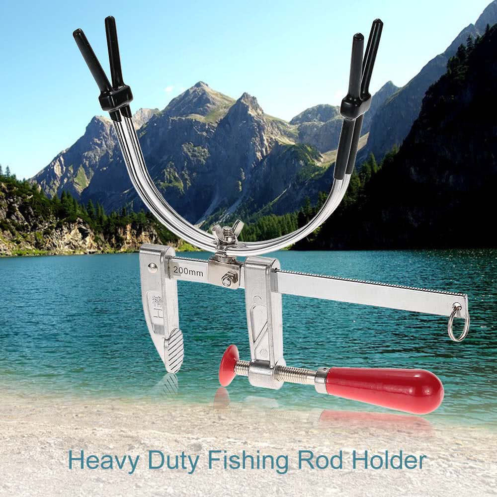 Fishing rod pole holder stand with a end 9 29 2018 7 15 pm for Pier fishing rod holder