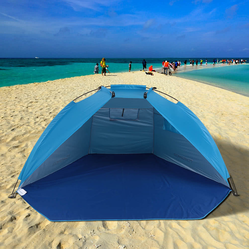 $3 Off TOMSHOO Outdoor Sports Sunshade Tent for Fishing Picnic Beach Park,limited offer $16.99