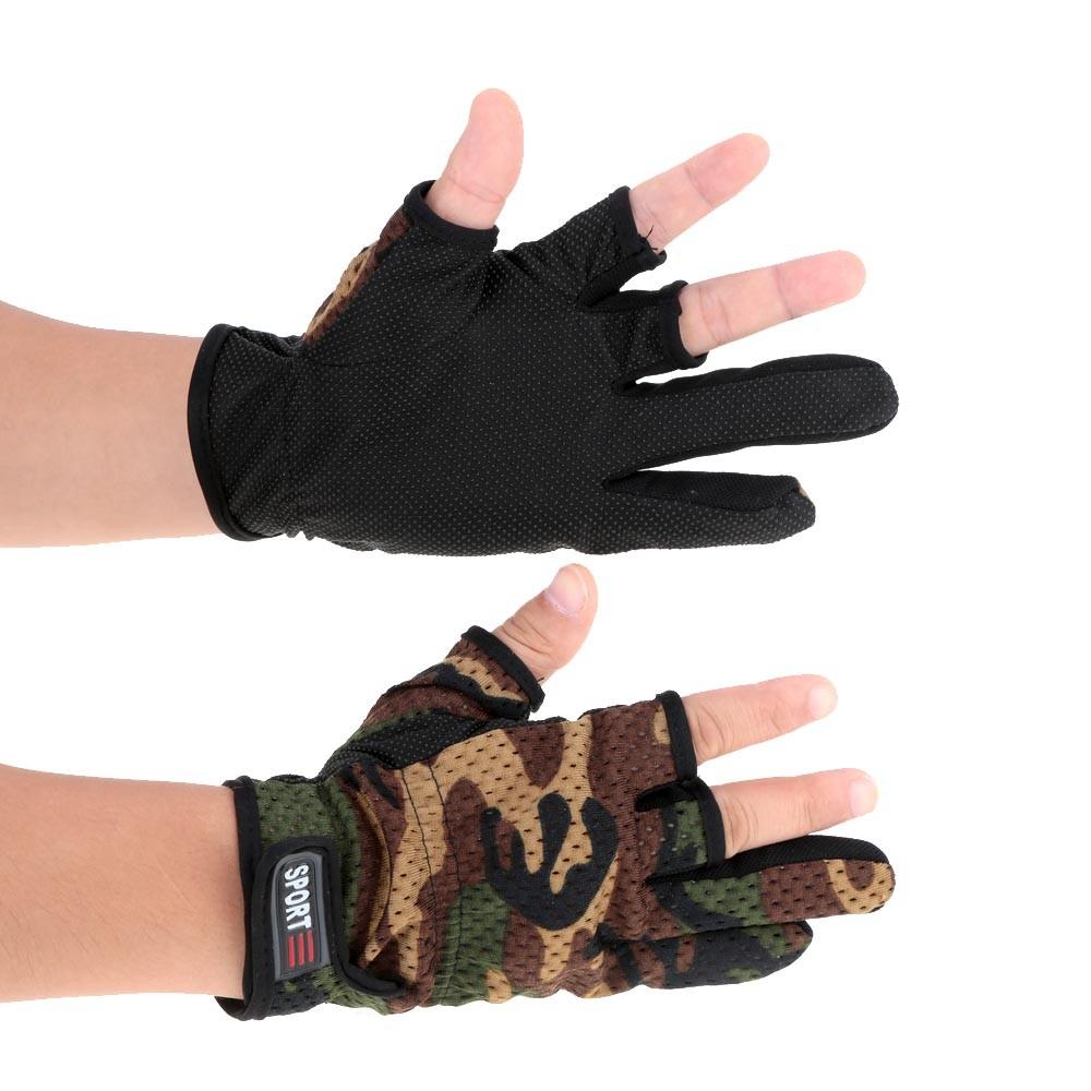 купить летние перчатки без пальцев для рыбалки