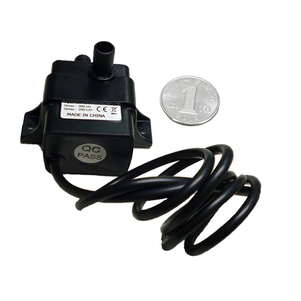 Ultra Quiet Mini Dc12v Micro Brushless Water Oil Pump